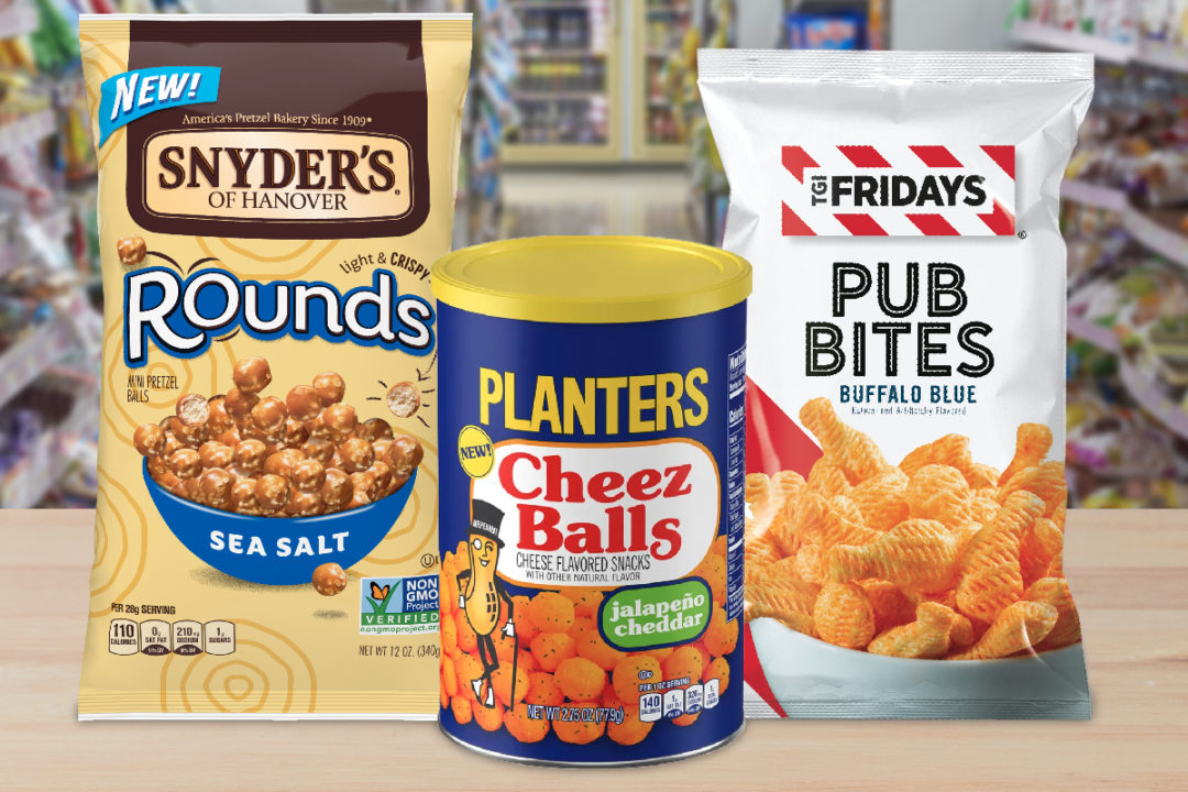 New salty snacks from Campbell Soup, Kraft Heinz and Utz