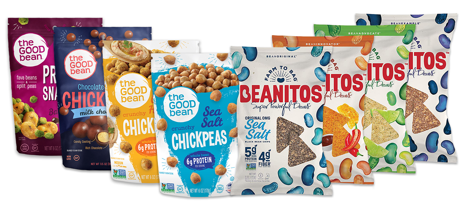 The Good Bean and Beanitos products