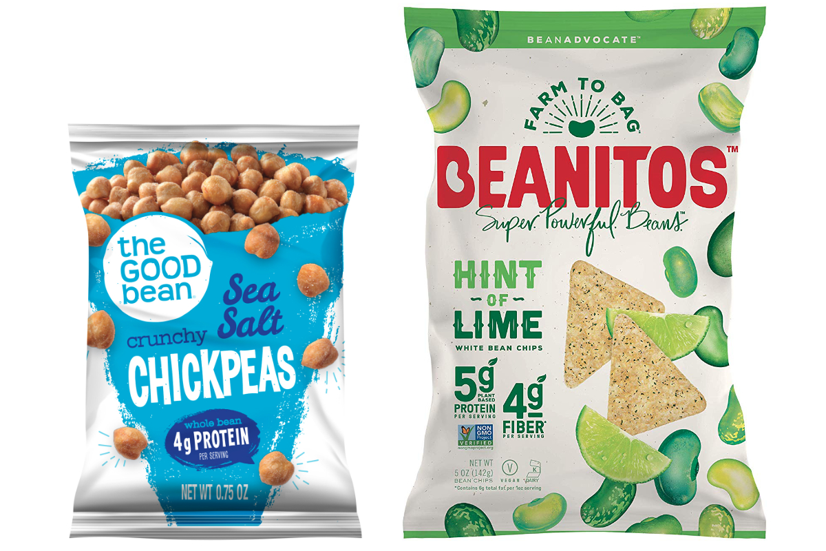 The Good Bean and Beanitos snacks
