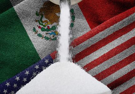 USA and Mexico sugar