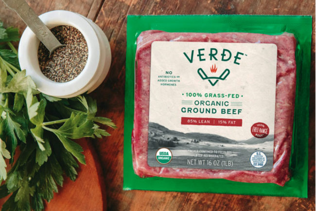 Verde Farms ground beef