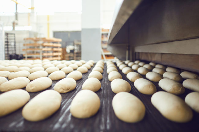 pizza dough production facility