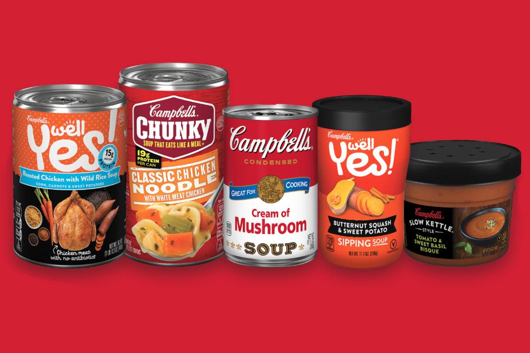 Campbell Soup Co soups