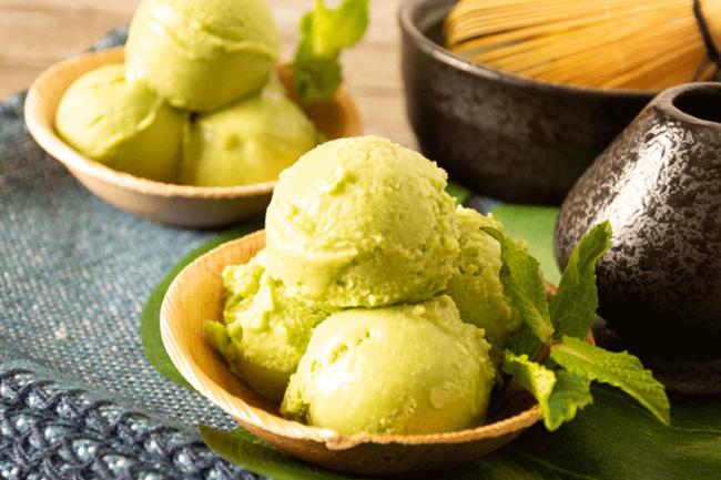 vegan matcha ice cream