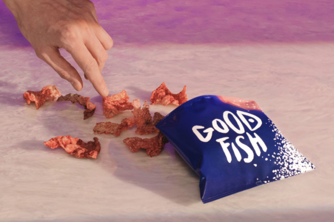 Goodfish crispy salmon skins snacks