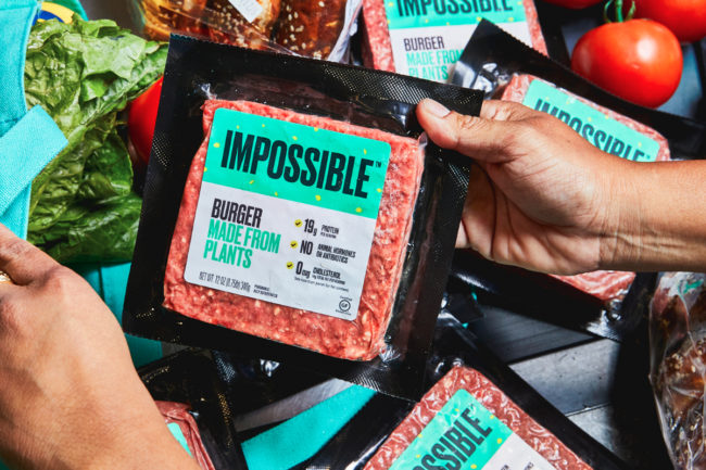 Impossible Burger retail