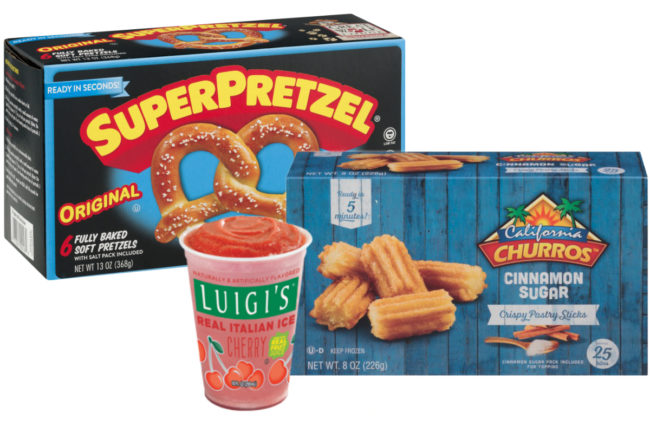 J&J Snack Foods products