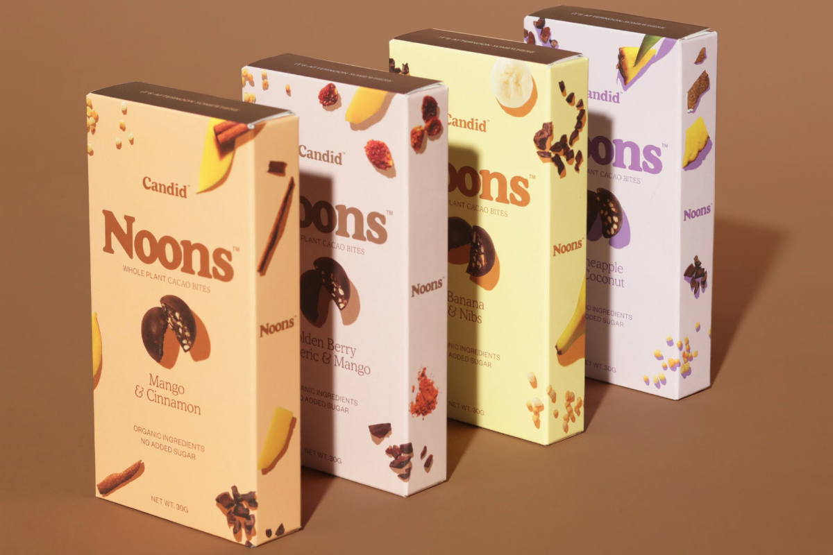 Noons chocolate snacks
