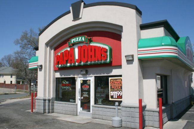 Papa John's store exterior