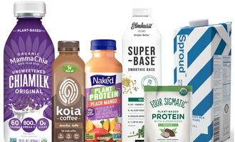 Plantproteinbeverages lead