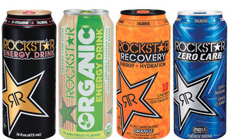 Rockstarenergydrinks lead