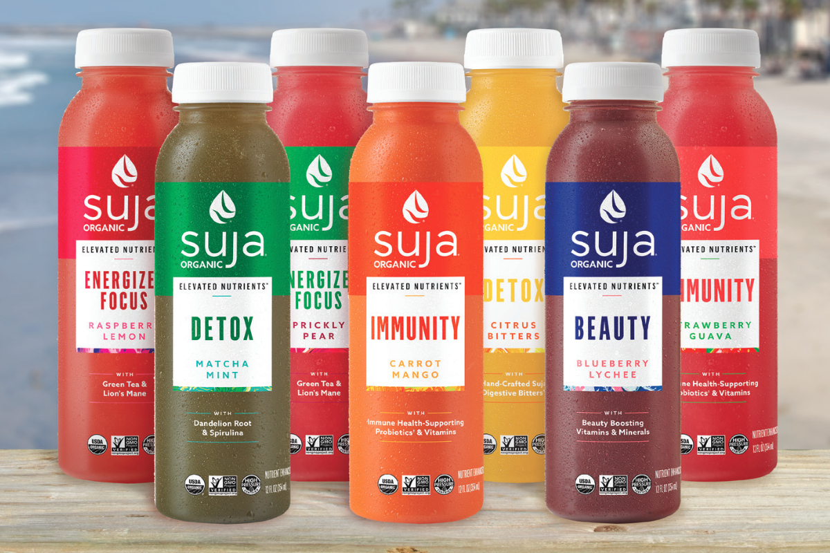 Suja Elevated Nutrients beverages