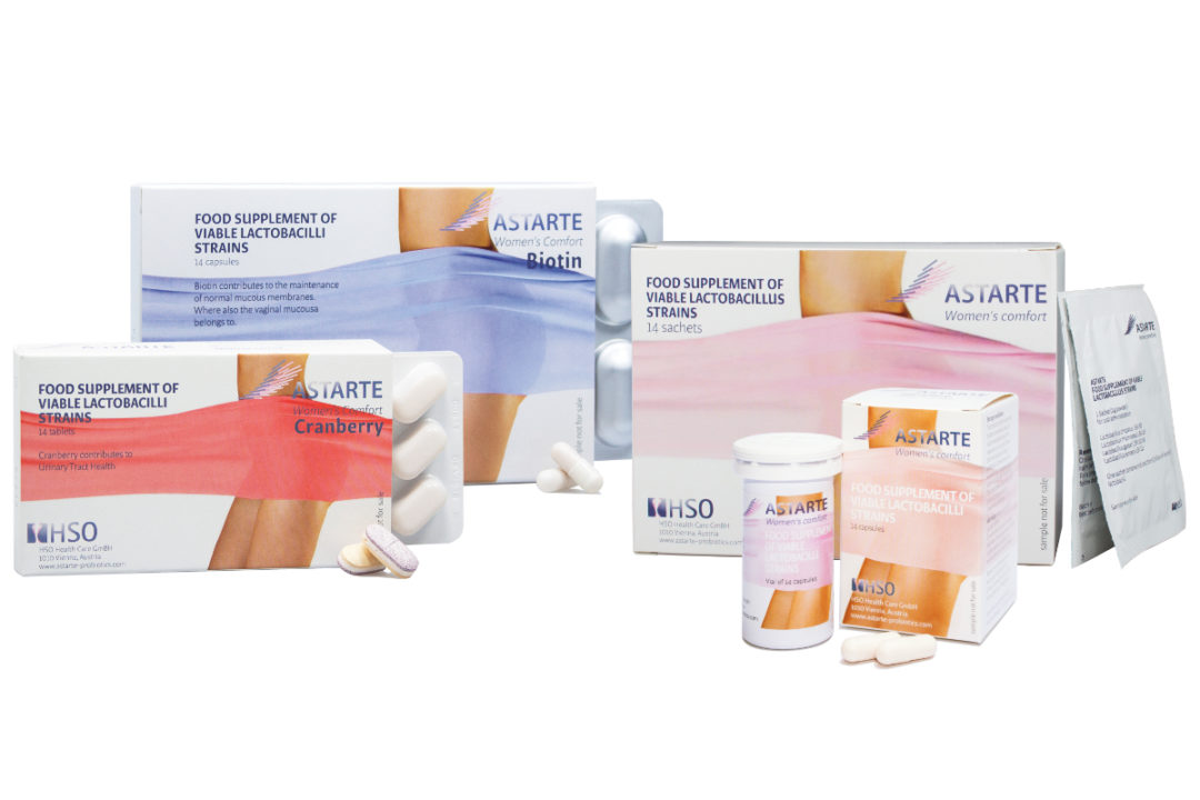HSO Health Care GmbH Astarte probiotics