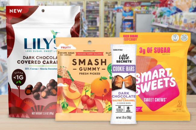 New better-for-you confectionery products