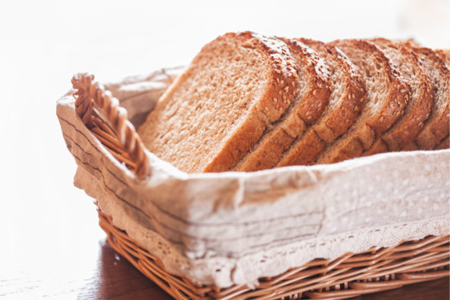 BreadPartners Choice Cracked Wheat Base bread