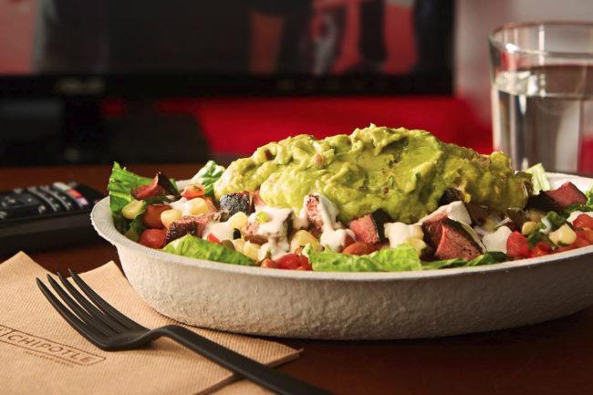 Chipotle salad at home