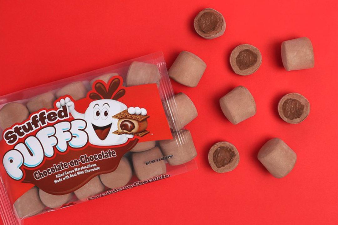 Stuffed Puffs chocolate-on-chocolate stuffed marshmallows