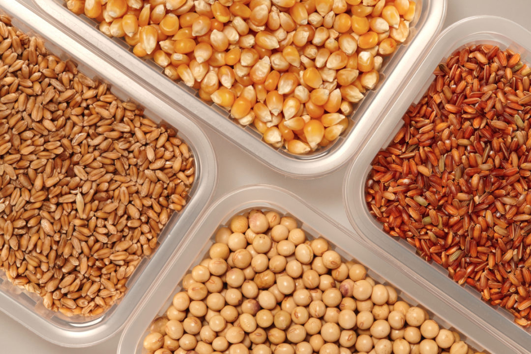 Corn, soybeans and wheat