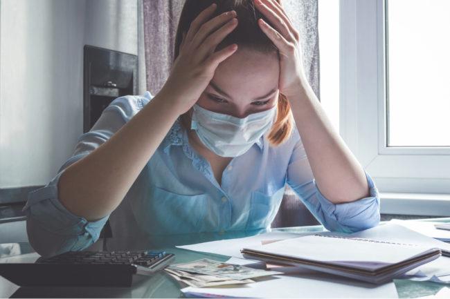 Coronavirus budget frustration
