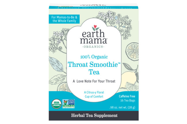 Earth Mama Organics Organic Throat Smoothie Tea