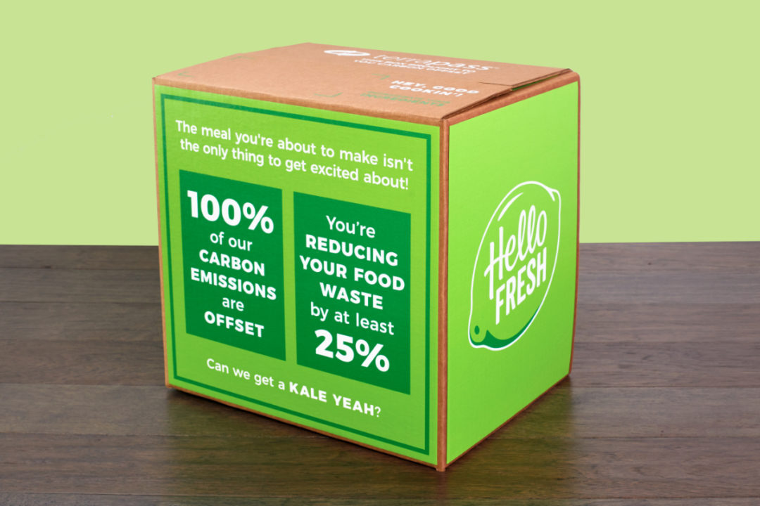 HelloFresh Terrapass box