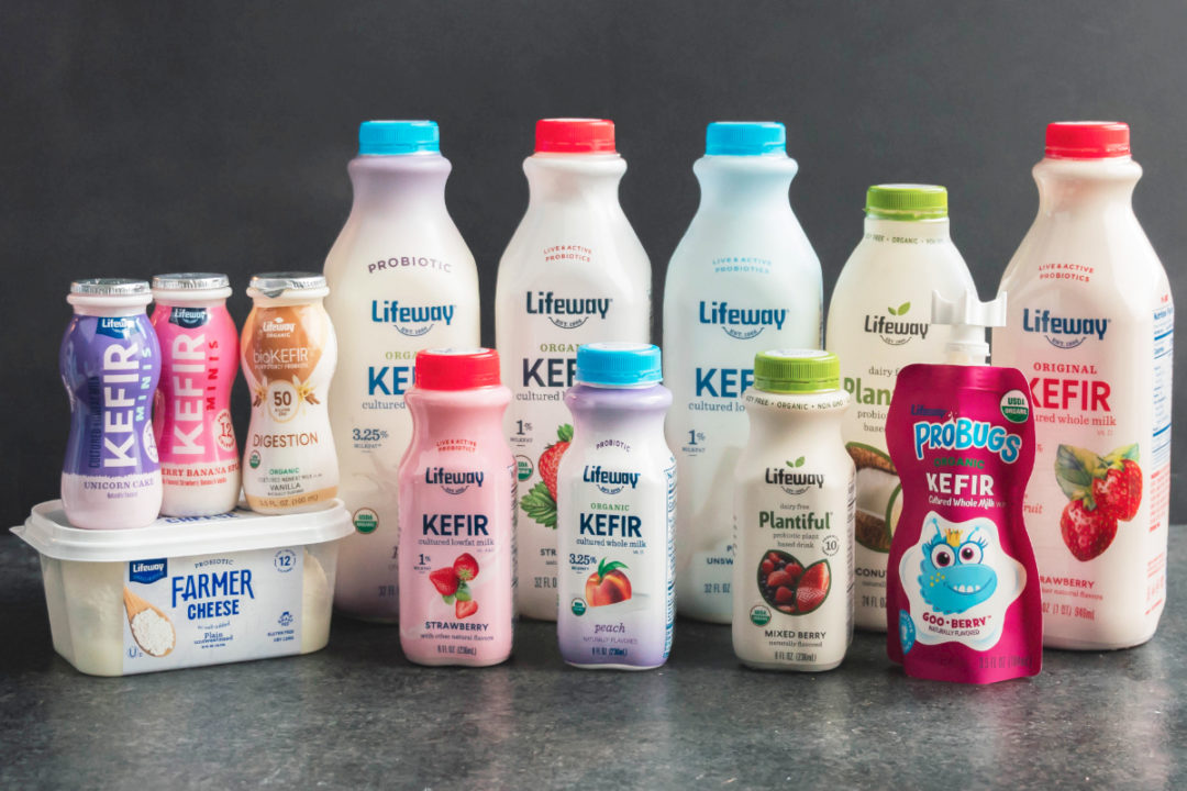 Lifeway Foods kefir products