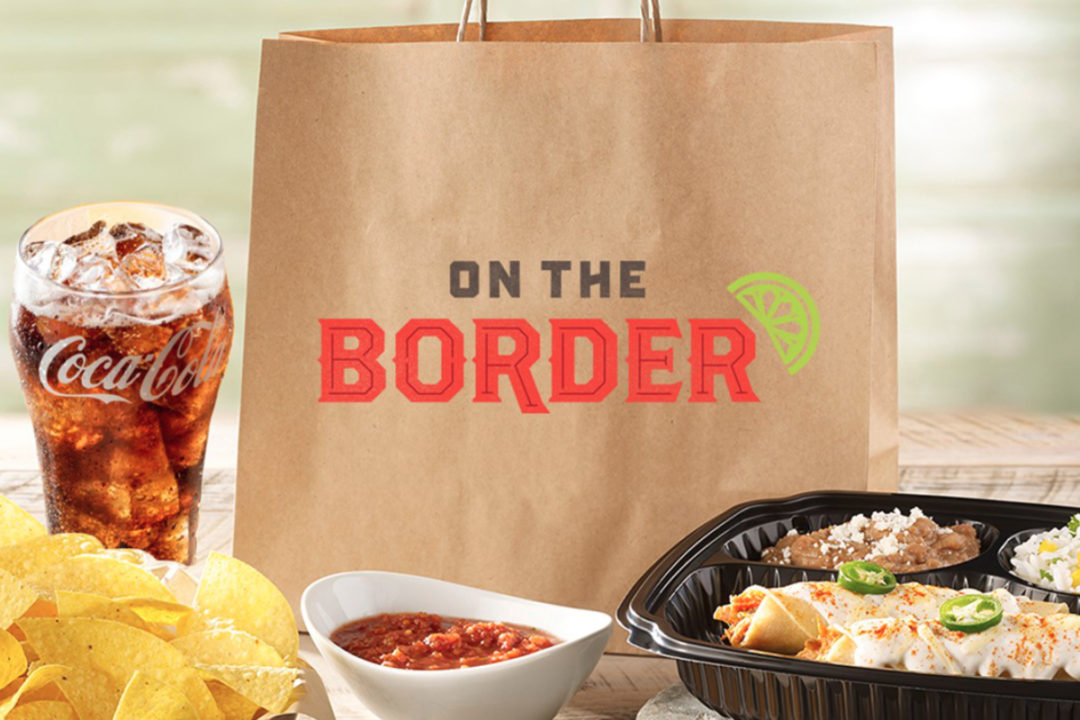 On the Border to-go bag and meal