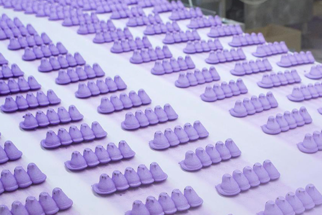 Peeps production line