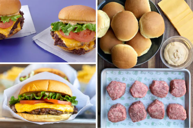 Shake Shack ShackBurger meal kits