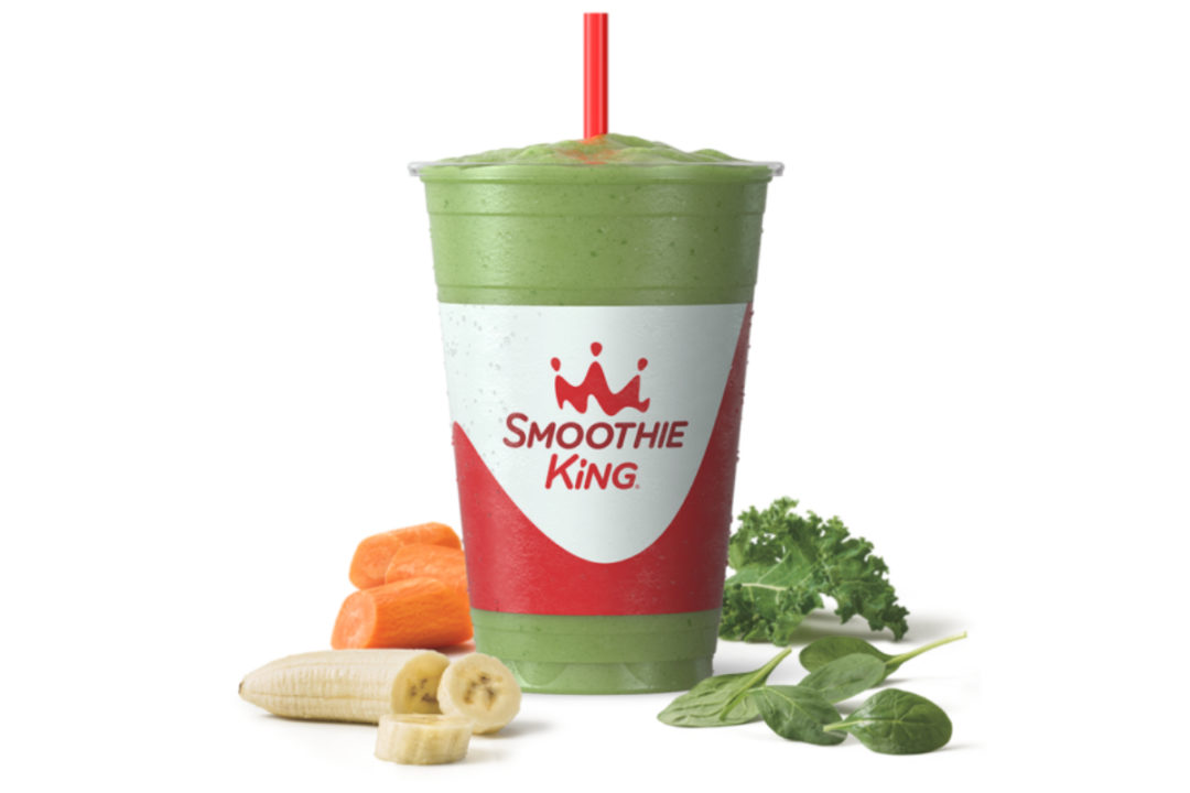 Smoothie King Immune Builder Veggie Superfood Smoothie