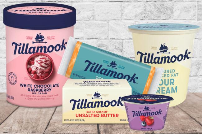 Tillamook dairy products