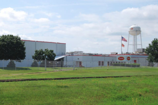 Tyson Foods Columbus Junction, Iowa, plant