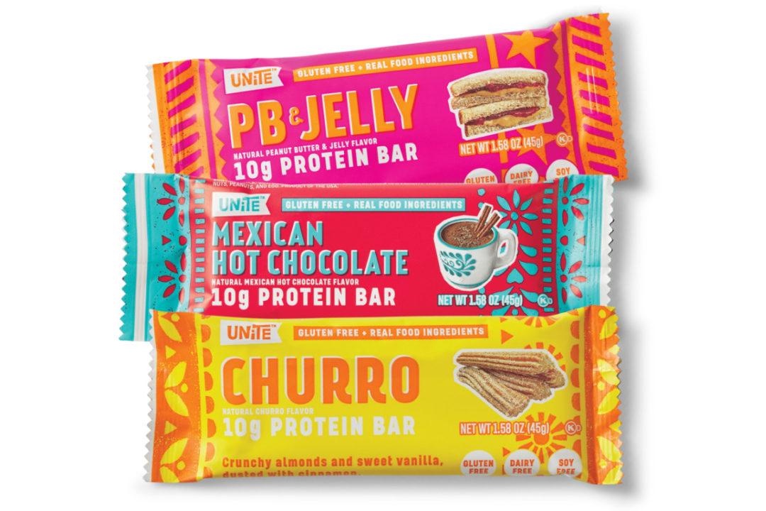 Unite Food protein bars