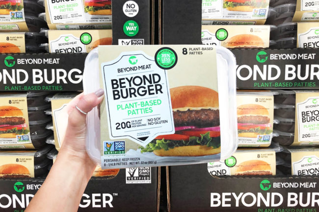 Beyond Burger sold at Costco