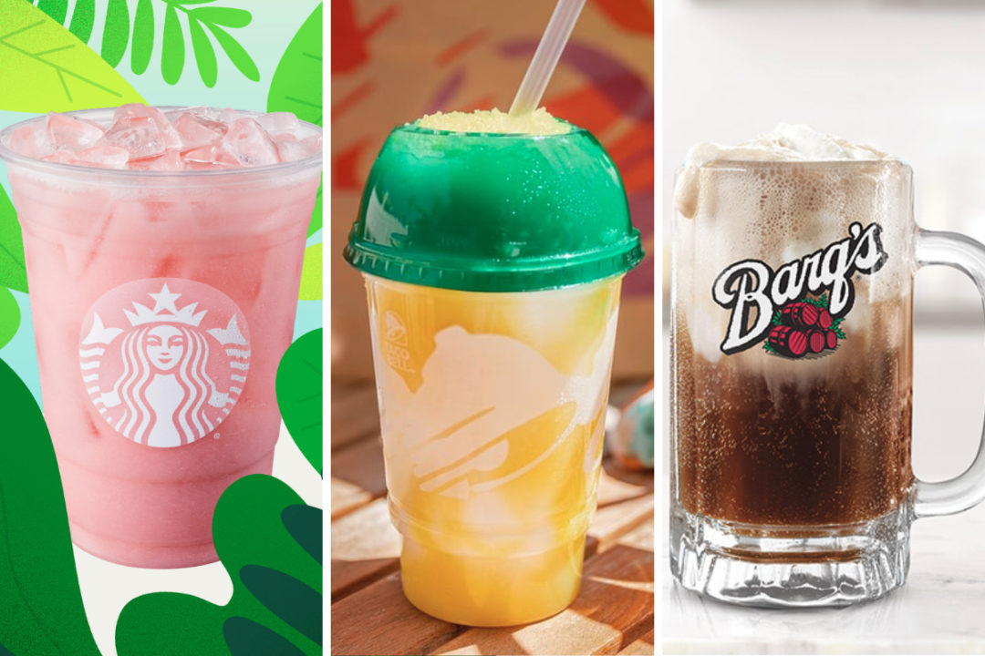 New beverages from Starbucks, Taco Bell and Arby's