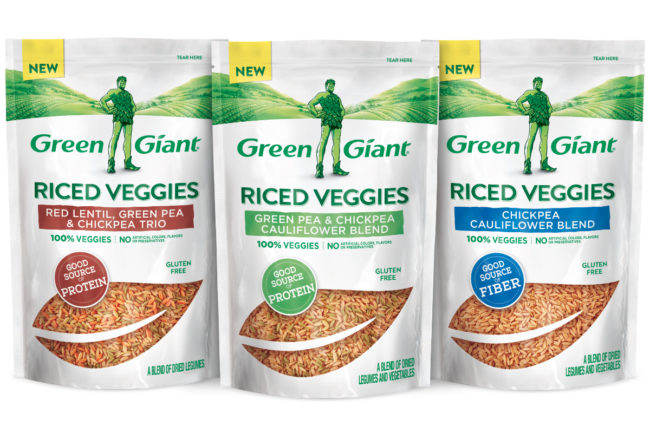 Green Giant Veggies Blends