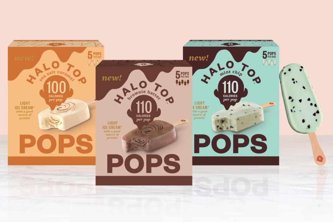 Halo Top Pops