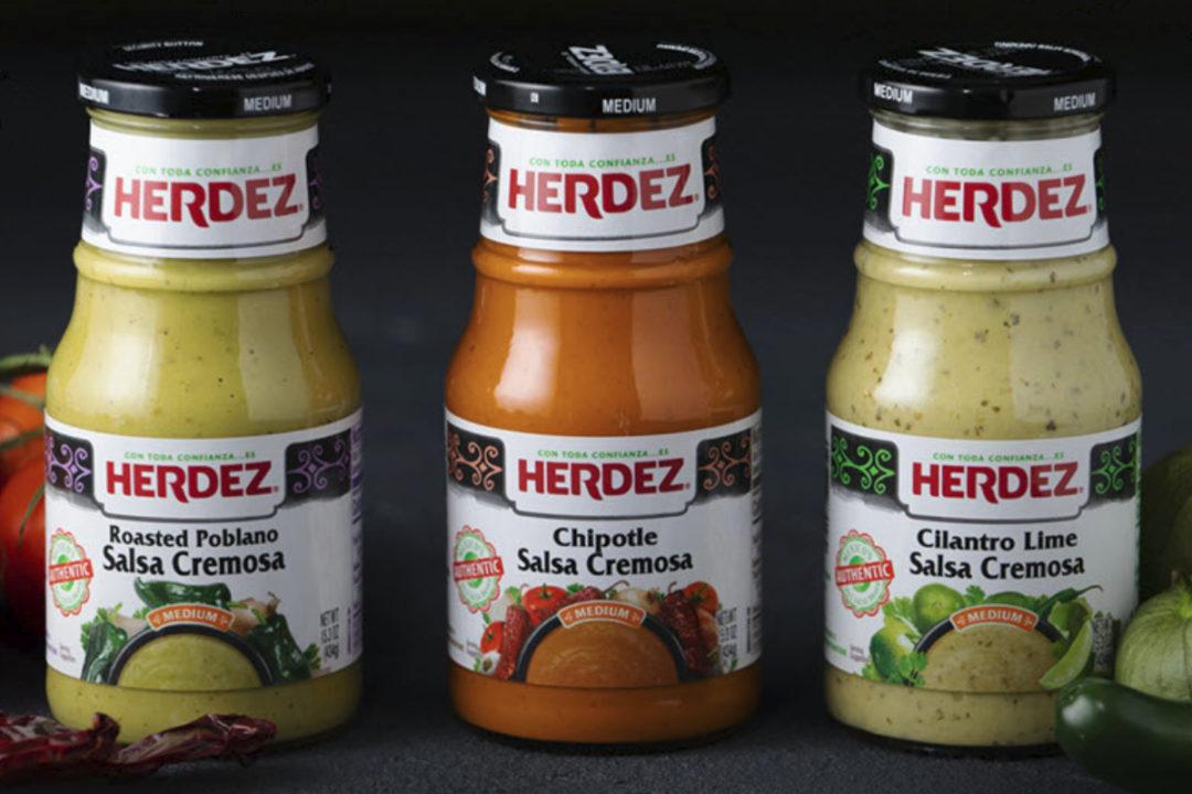 Herdez Salsa Cremosa line
