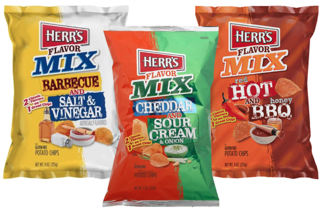 Herr's Flavor Mix chips