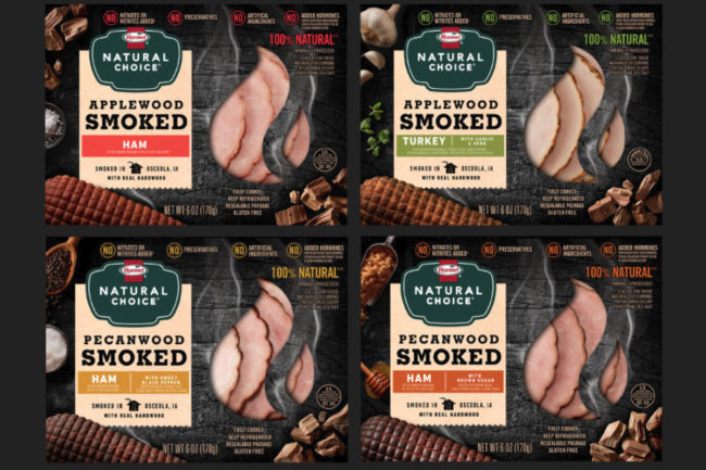 Hormel Natural Choice Hardwood Smoked lunch meats