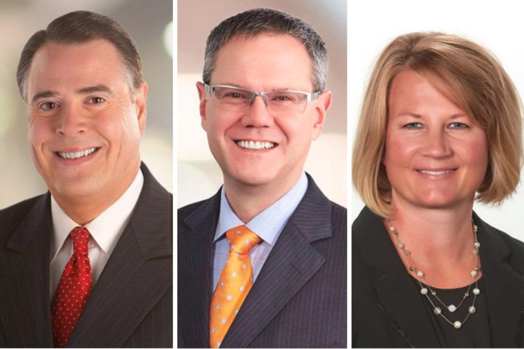 Larry Vorpahl, Swen Neufeldt and Lisa Selk, Hormel Foods