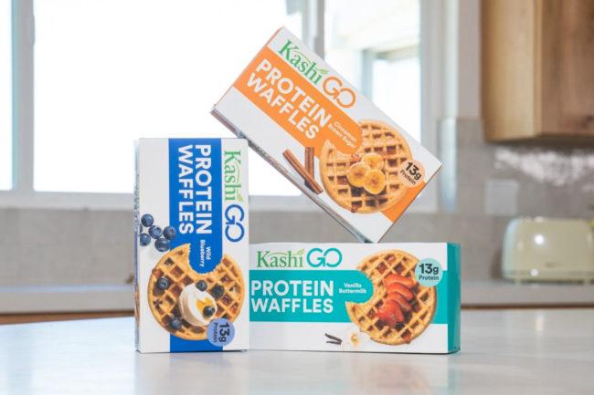 Kashi Go Protein Waffles