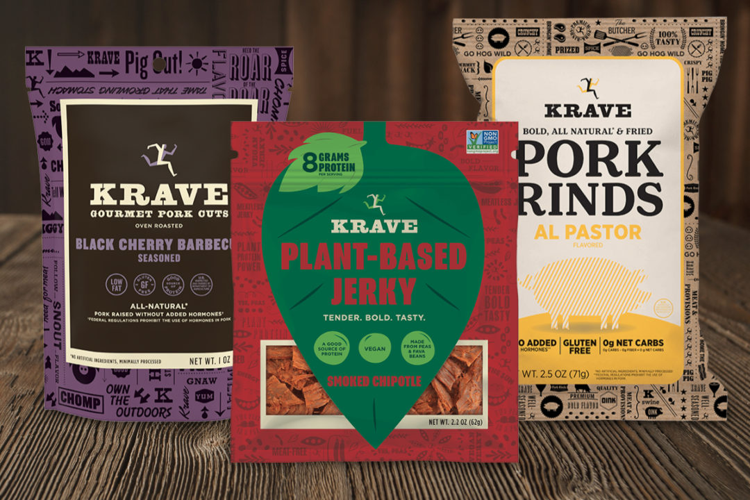 Krave jerky products