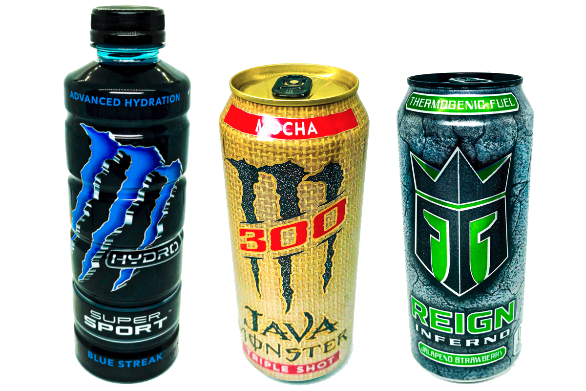 New Monster beverages