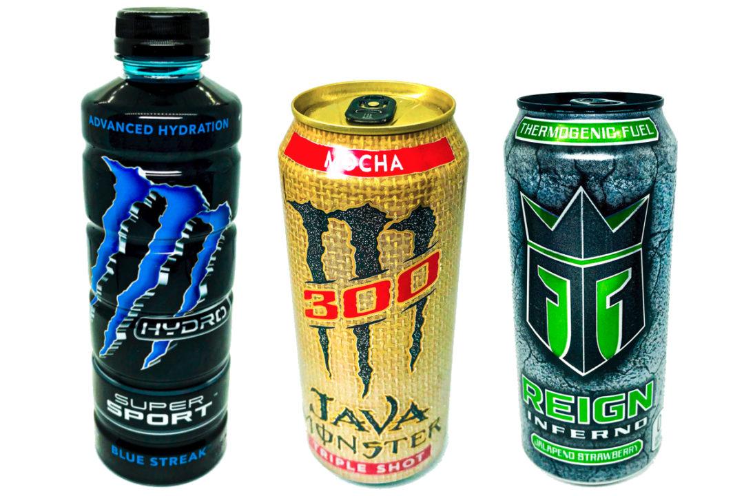 New Monster beverages