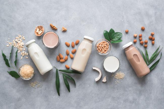 Plant-based milk alternatives