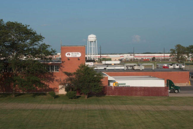 Hormel Rochelle Foods plant