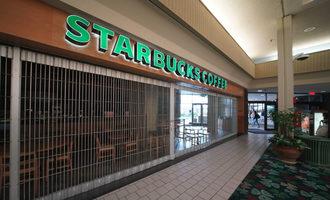 Starbucksmallclosed lead