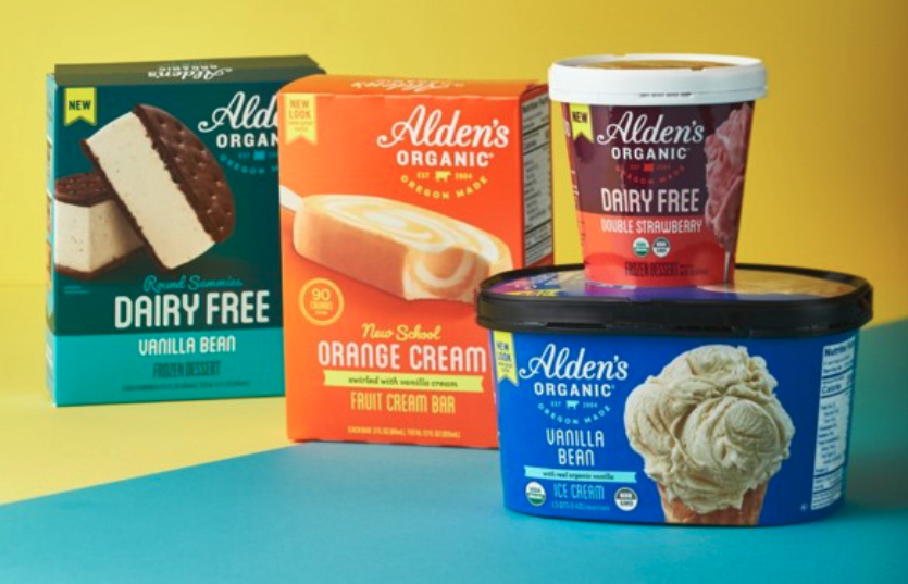 Alden's Organic ice cream