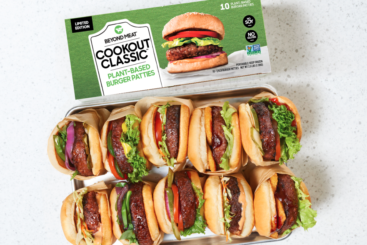 Beyond Meat Debuts Cookout Classic Plant Based Burgers 2020 06 17 Food Business News